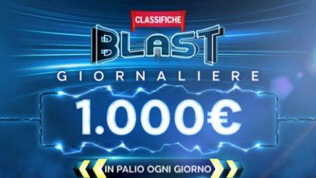 888poker: classifiche BLAST giornaliere con 1000€ in palio