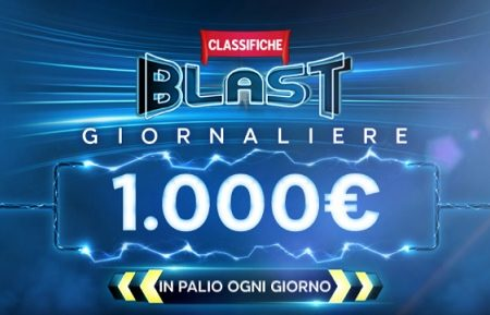888poker: classifiche BLAST giornaliere con 1000€ in palio